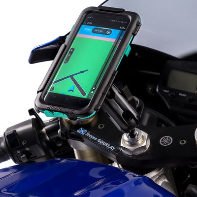 Galaxy S9 S9+ Motorcycle Fork Stem Mount Waterproof Tough Case - Ultimateaddons