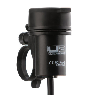 Dual USB Hardwire Charger with Handlebar Mount - Ultimateaddons