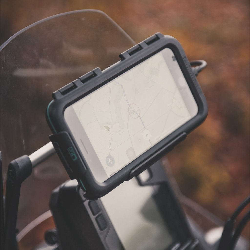 Samsung Galaxy S9 S9+ Waterproof Case Motorcycle Crossbar Mount - Ultimateaddons