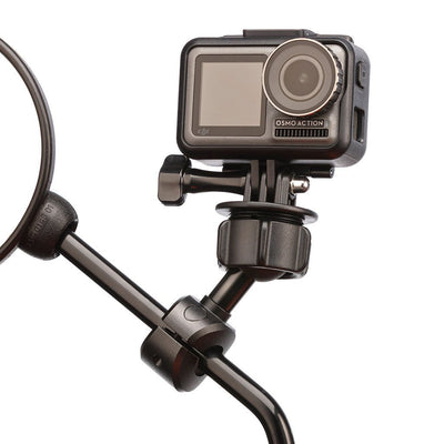 Motorcycle VBlogger Mirror Mount for DJI Osmo Action Action Camera - Ultimateaddons