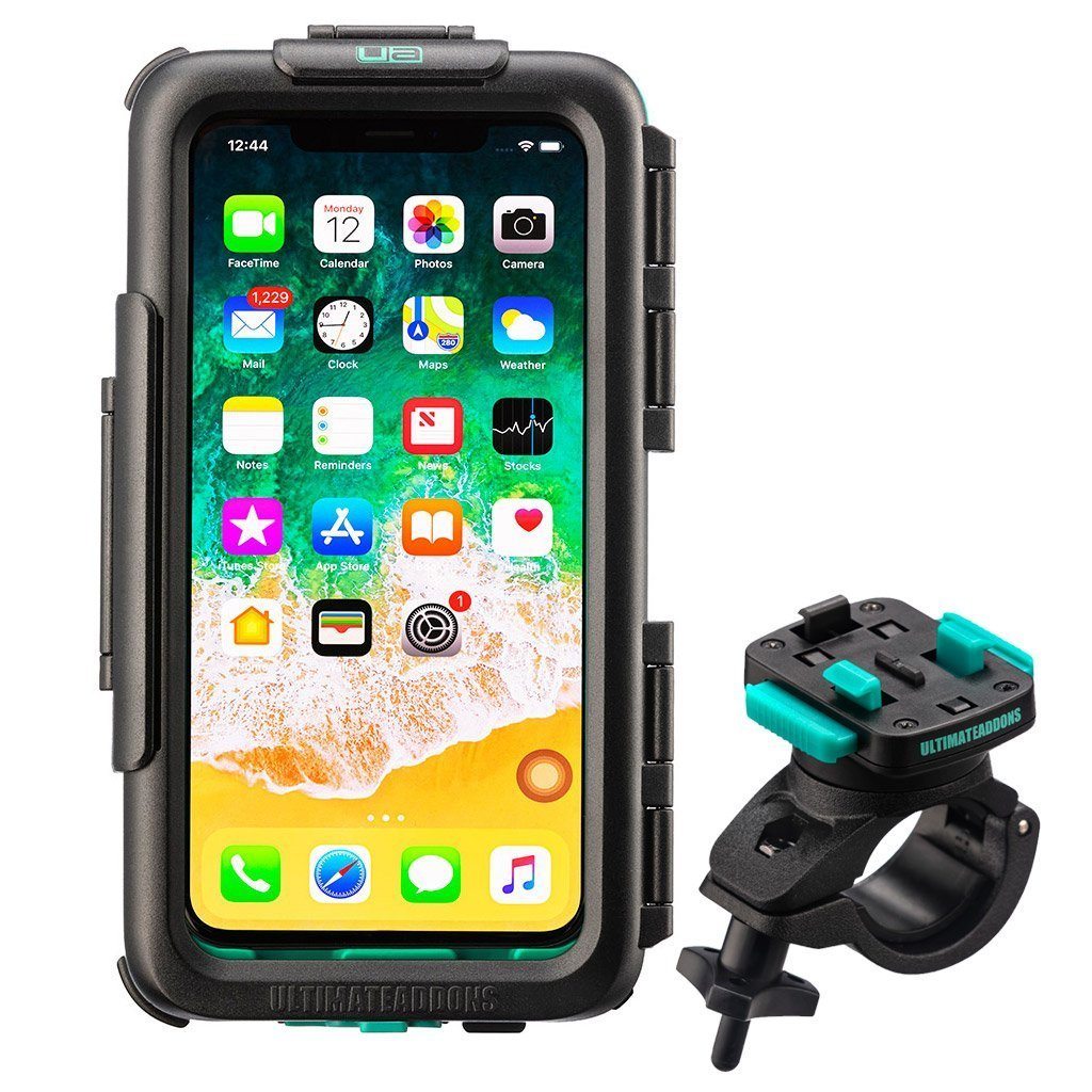 Waterproof Strong Secure Tough Hard Case Bike Mounting Kit for Apple iPhone XR - Ultimateaddons