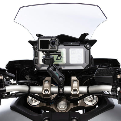 Metal Motorcycle Handlebar Mounting Kit for DJI Osmo - Ultimateaddons