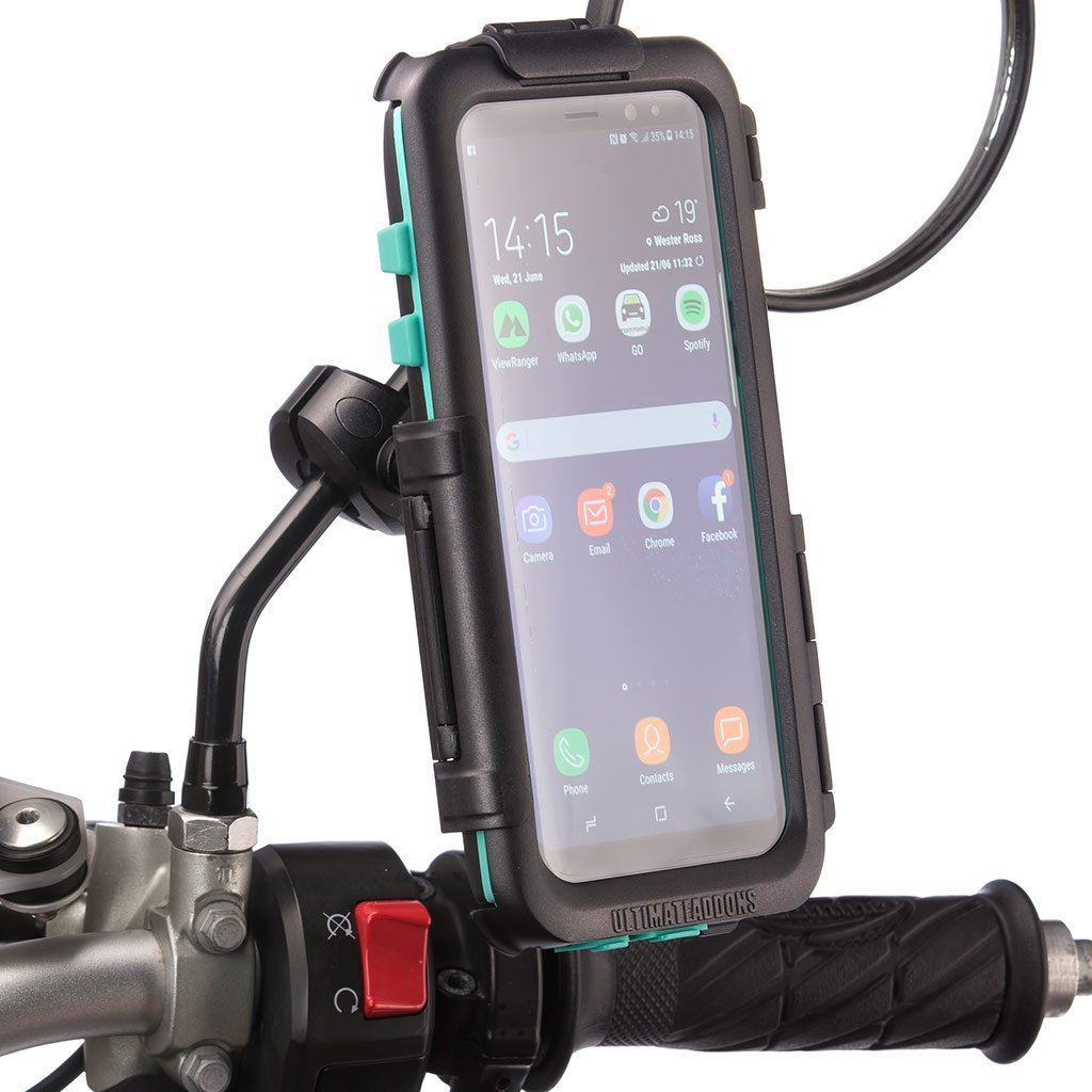 Samsung Galaxy S9 S9+ Motorcycle Mirror Waterproof Case - Ultimateaddons