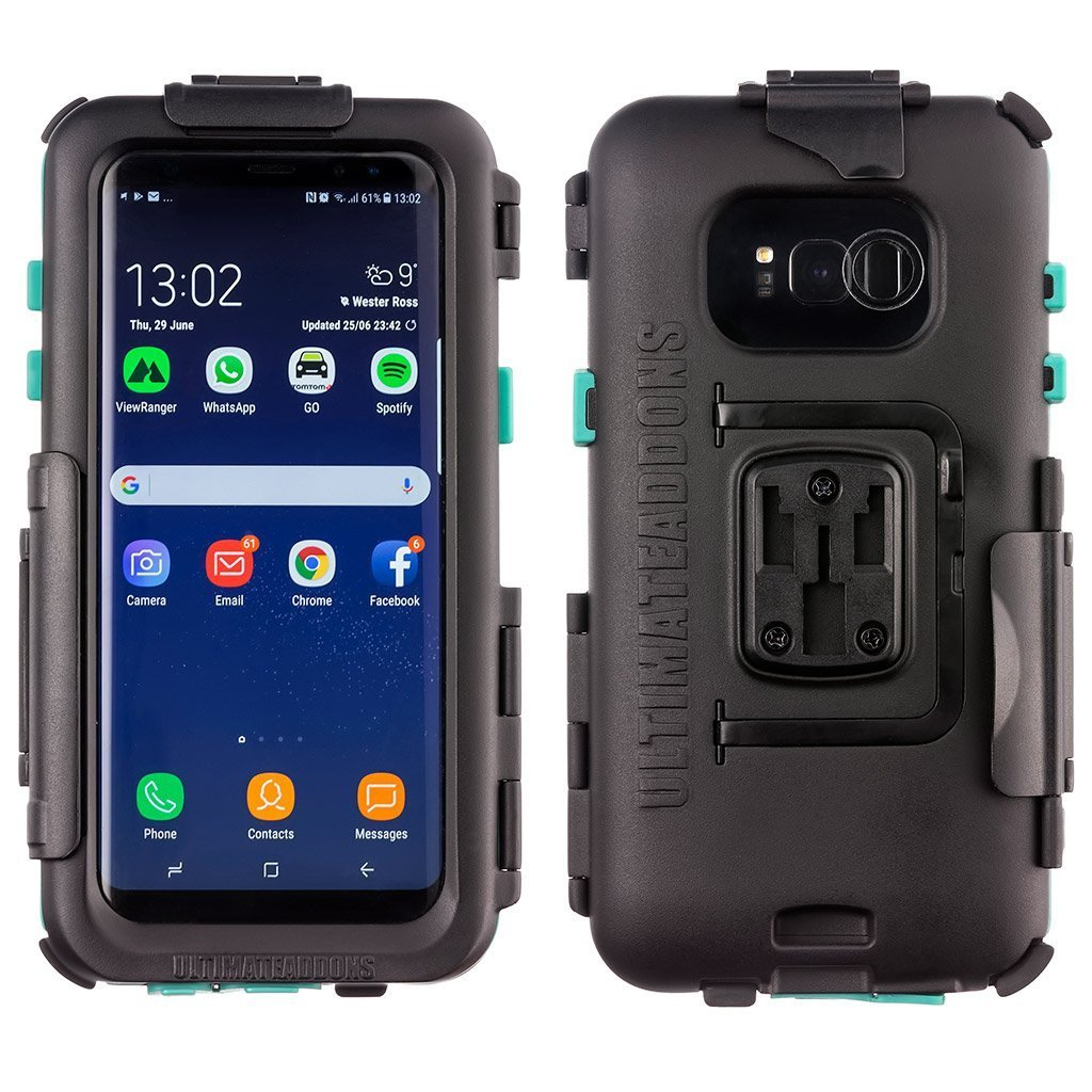 Hard IPX 5 Waterproof Bike Case Samsung Galaxy S8+ - Ultimateaddons