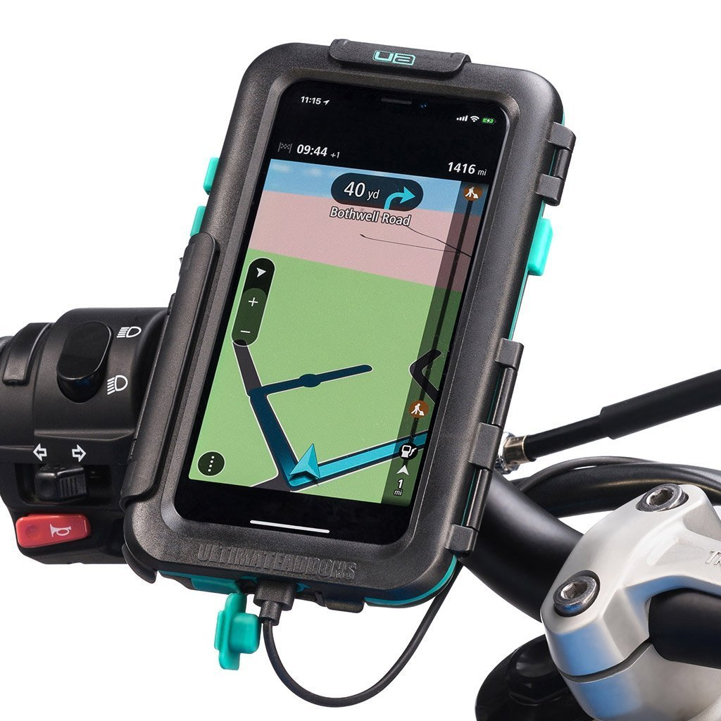 iPhone X / Xs Tough Wateproof Motorcycle Case Handlebar Mount - Ultimateaddons