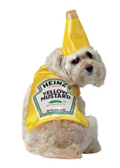 Heinz Yellow Mustard Dog Costume