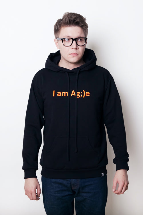 Худи I am Ag;)e Black
