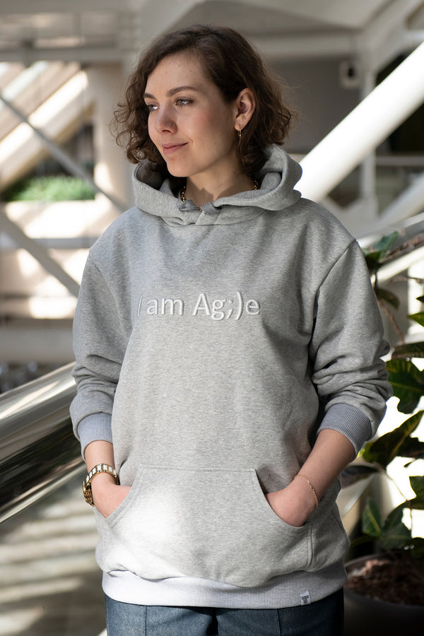 ХУДИ I AM AG;)E GREY FEMALE
