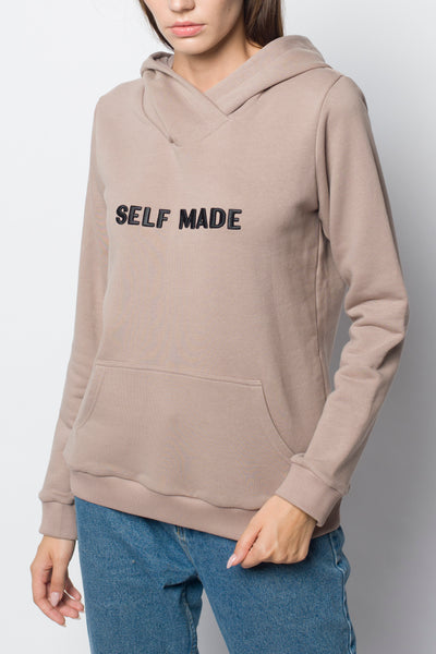 Худи Self Made Beige
