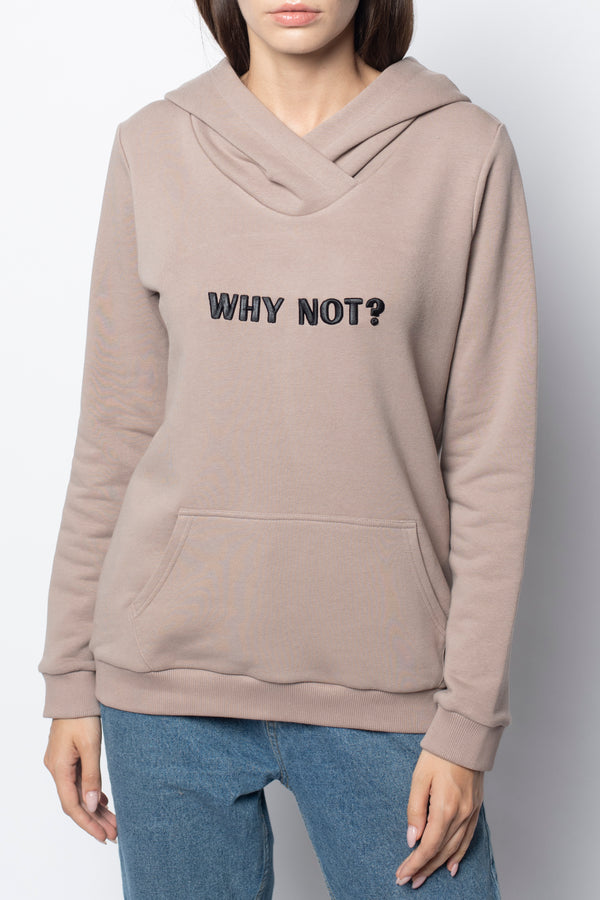 Худи Why Not Beige