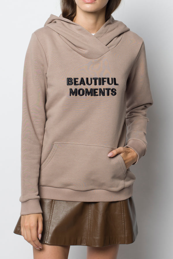 Худи Beautiful Moments Beige