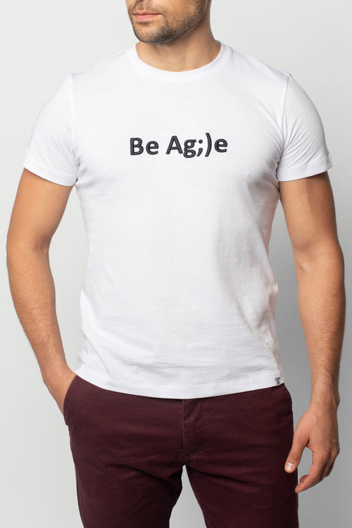 Футболка Be Agile White