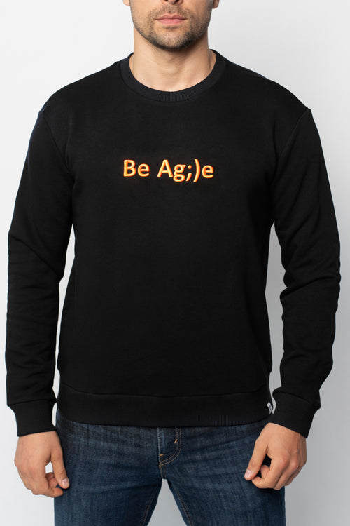 Свитшот Be Agile Black