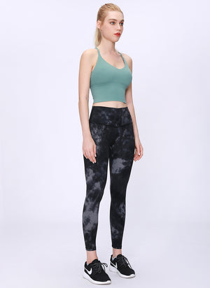 Tie Dye Cropped Leggings