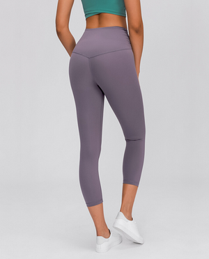 V Cropped Leggings