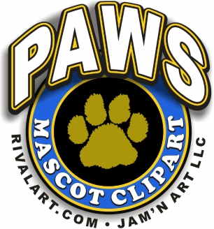 Paws and Claws Clipart