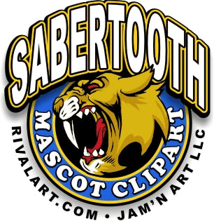 Sabertooth Clipart