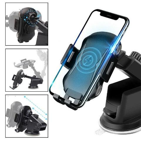 Wireless Car Charger Phone Mount - 10W Air Vent Phone Holder