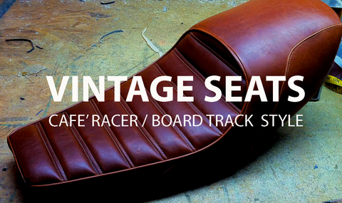 Vintage Motorcycle Seats