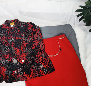 Skirt Bundle- Lady in Red