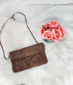 Handbag- Brown clutch bag