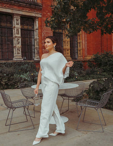 Ally Pally - White Jumpsuit