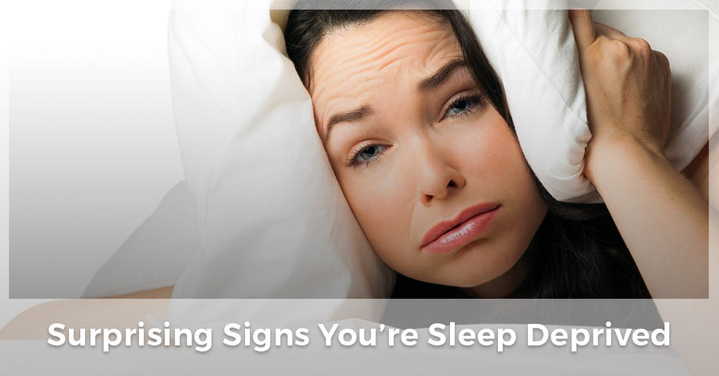 Surprising Signs You're Sleep Deprived