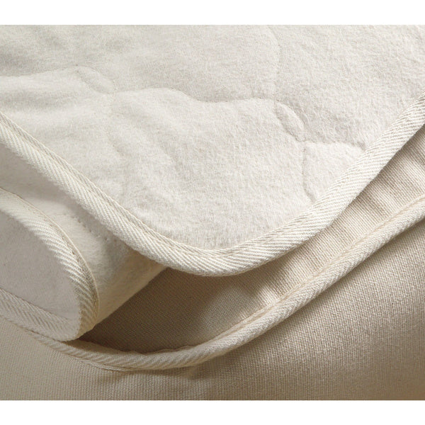 OMI Organic Cotton Flannel Mattress Pad