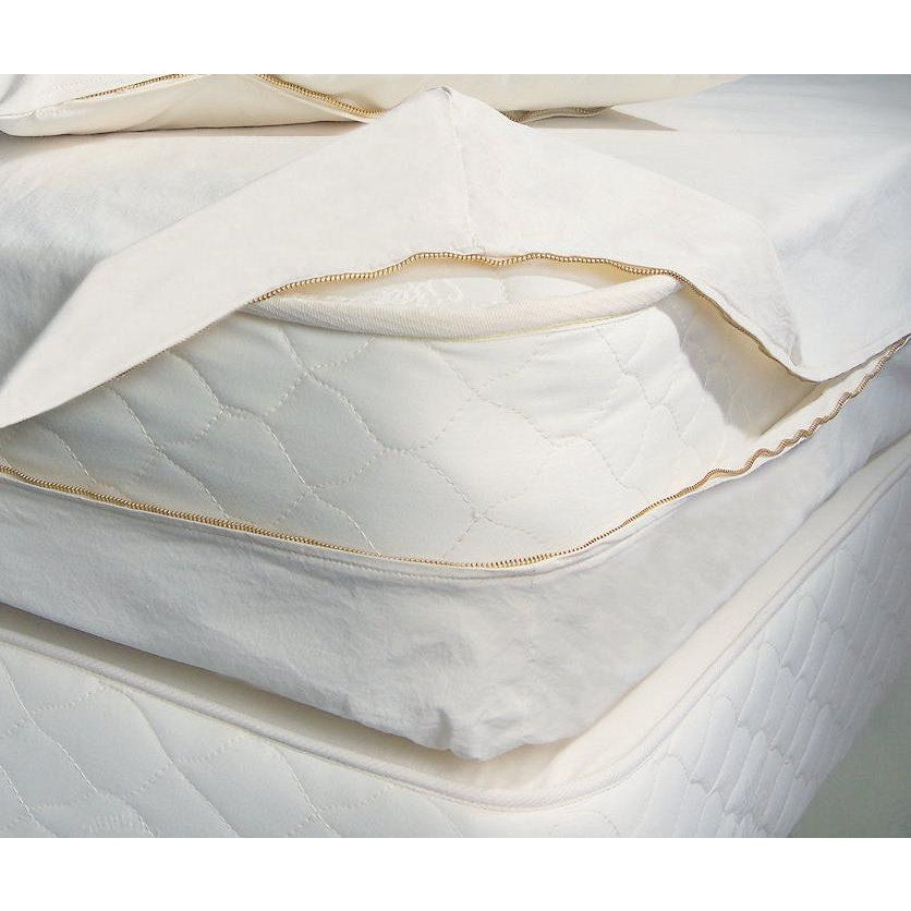 OMI Certified Organic Cotton Bed-Bug and Dust-Mite Pillow or Mattress Barrier Cover