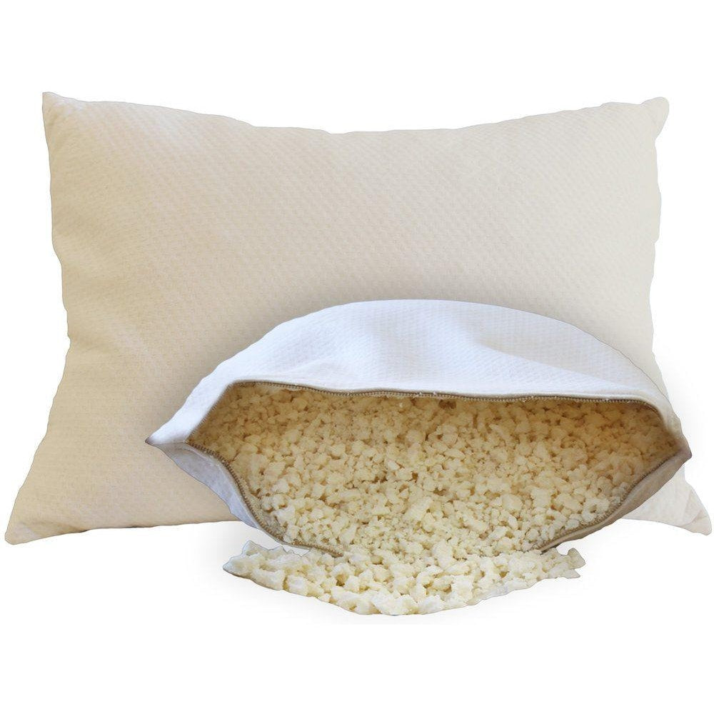 OMI The Crush 100% Natural Shredded Rubber Pillow