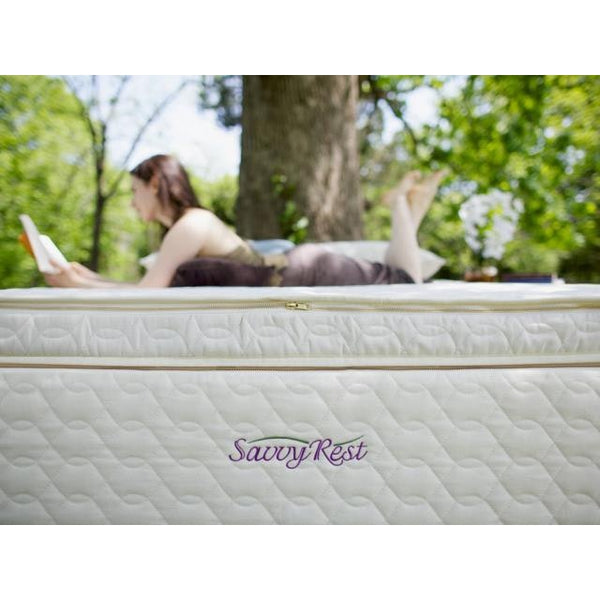 Savvy Rest Unity 4-Layer Customizable Pillow Top Mattress