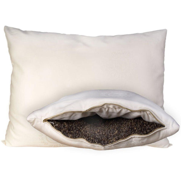 OMI Wool-Wrapped Organic Buckwheat Pillow