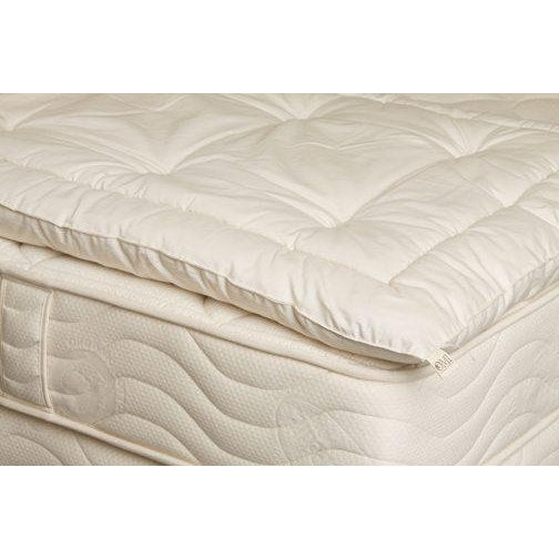 OMI The Wooly Lite 1.5 inch Wool Mattress Topper
