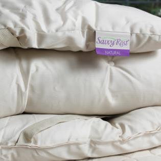 "Savvy Rest Woolsy 3.5"" Wool Mattress Topper"