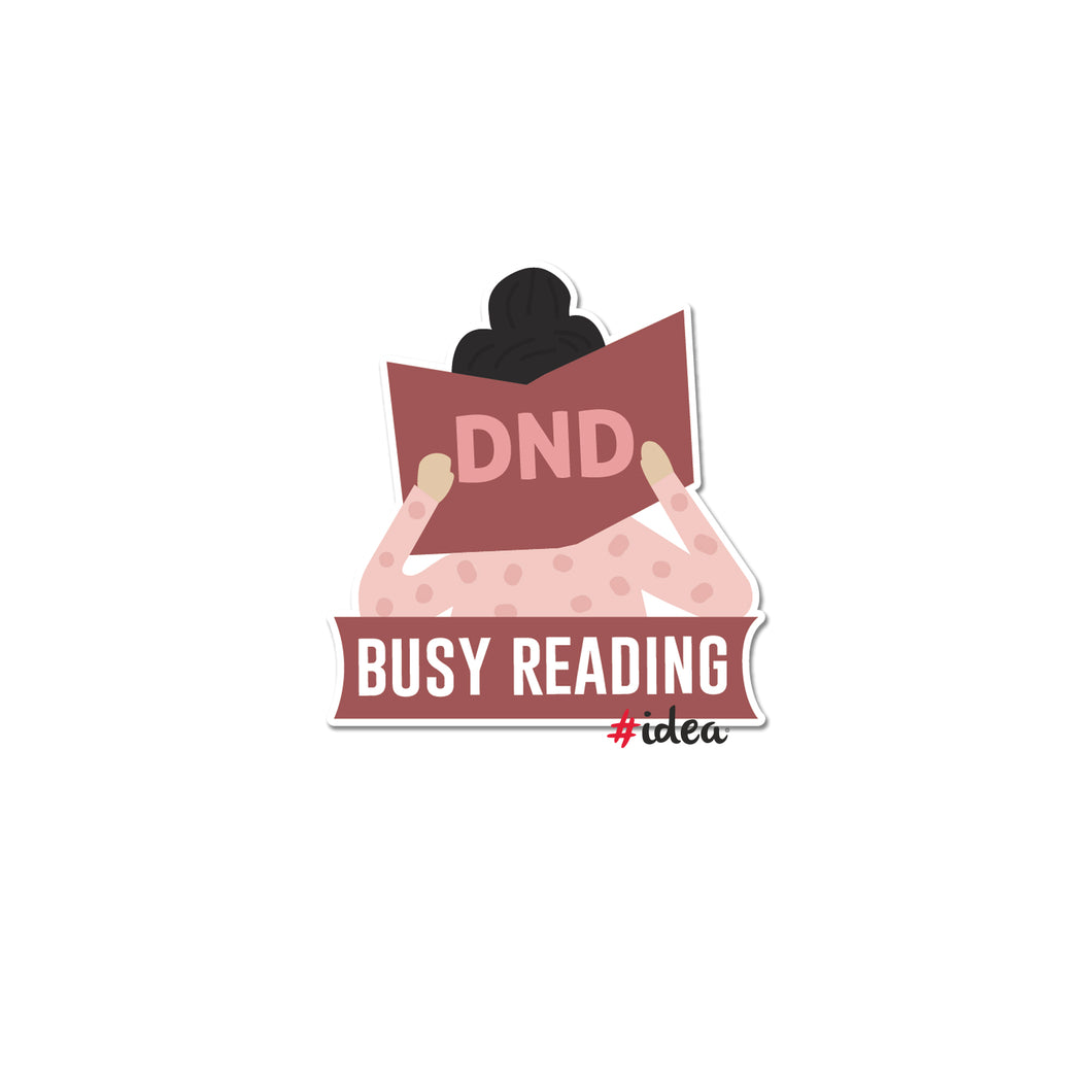 DND reading Pin