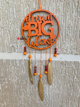 Load image into Gallery viewer, Dream big lil one dream catcher