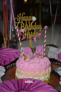 Personalised Happy Birthday with name