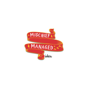 Mischief managed Pin