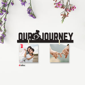 Our journey clip hanging