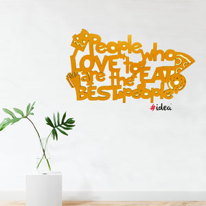 People who love to eat are the best people