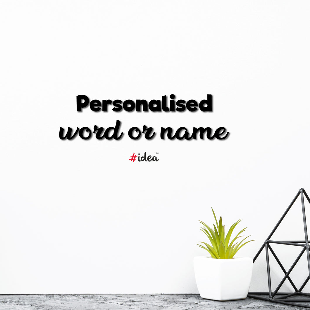Personalised Word