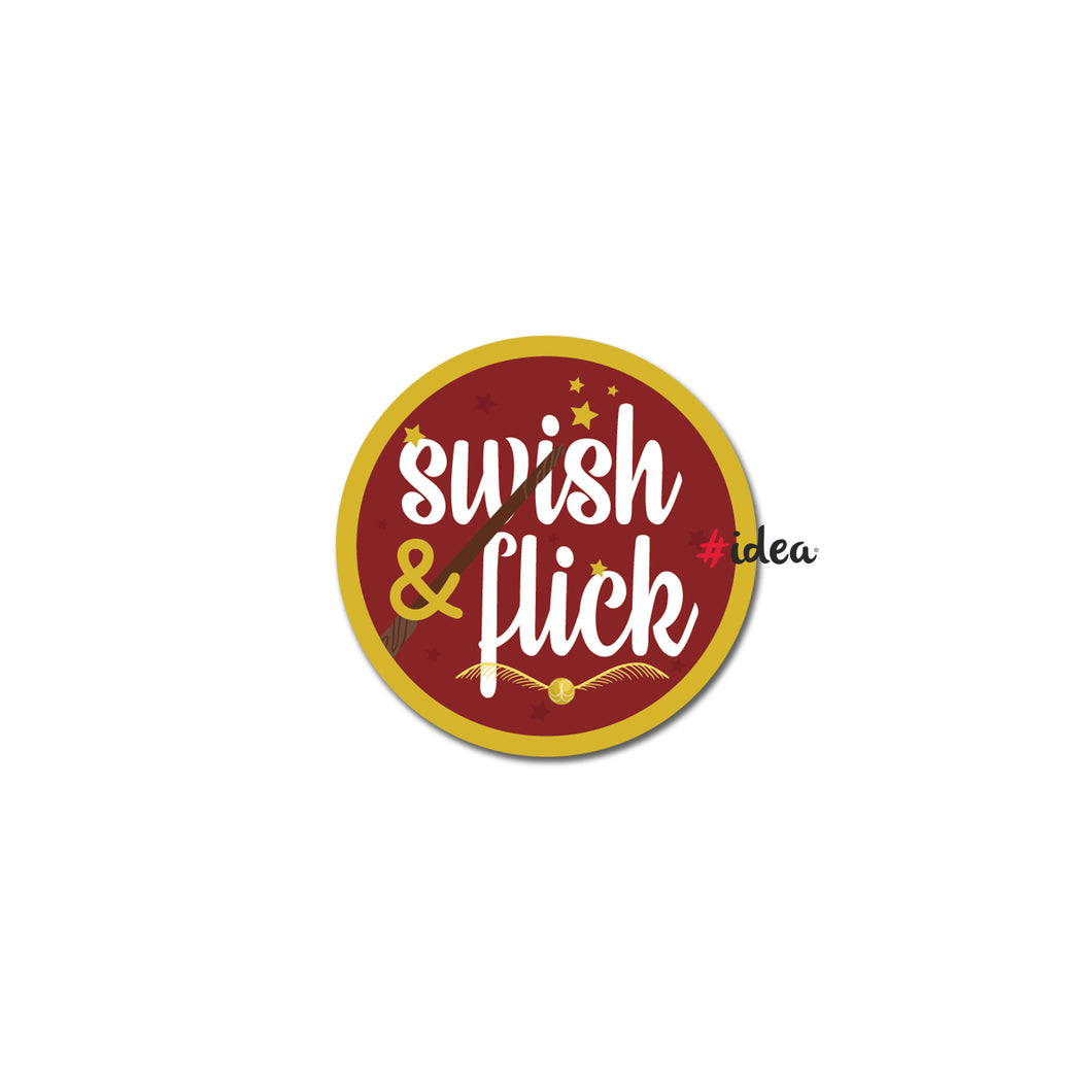 Swish & flick Pin
