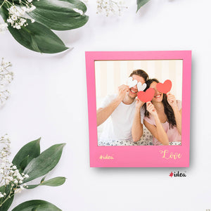Love photo magnet