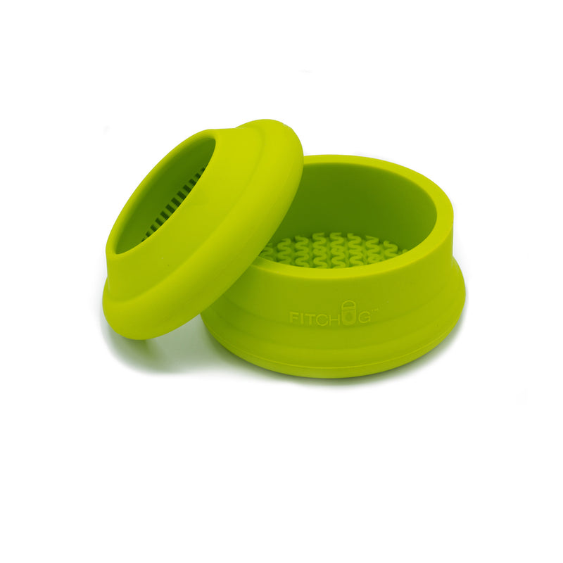 BOTTLE BUMPER SET - LIMED GREEN