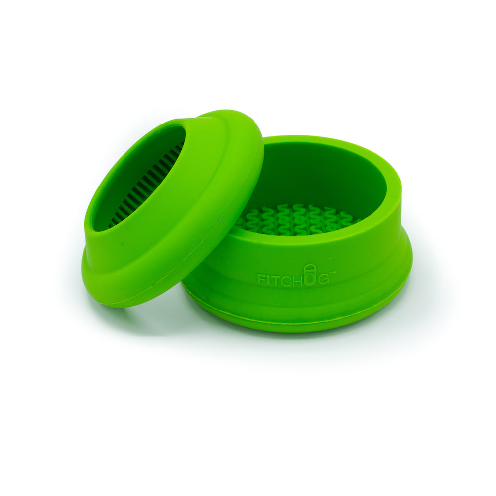BOTTLE BUMPER SET - MONSTER GREEN