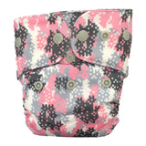 Diaper Rite 3.1 Newborn All In One Commander In Pink