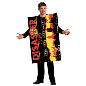 Disaster Card Halloween Costume