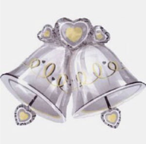 Wedding Bells Foil Balloon