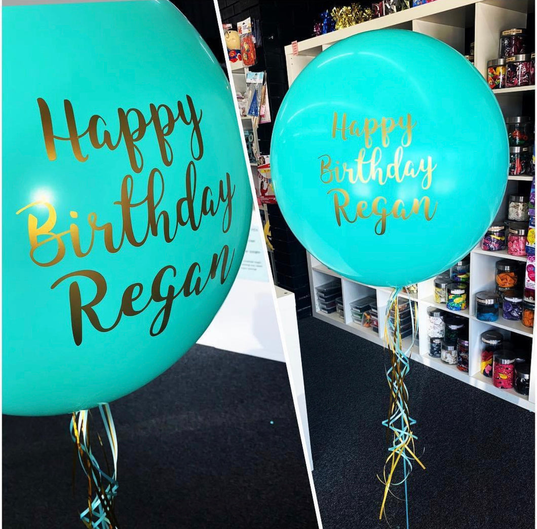 60cm Personalised Latex Balloon