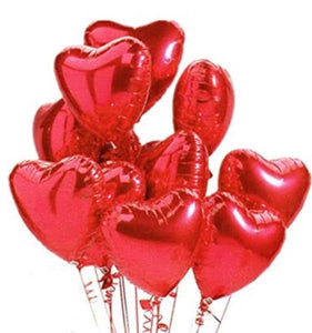 Helium Filled Heart Balloon